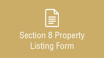 Section 8 Property Listing Form